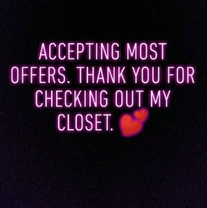 💕Accepting Most Offers.💕